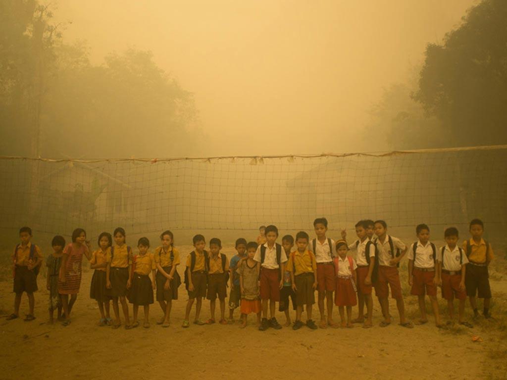 Jika Tuhan Turunkan Hujan, Tak Berarti Korban Kebakaran Hutan Dilupakan