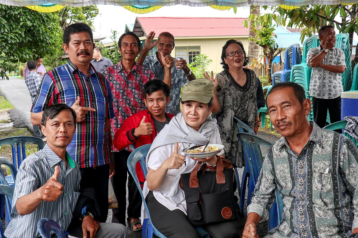 Uninvited Guests Welcomed by Ngaju Dayak