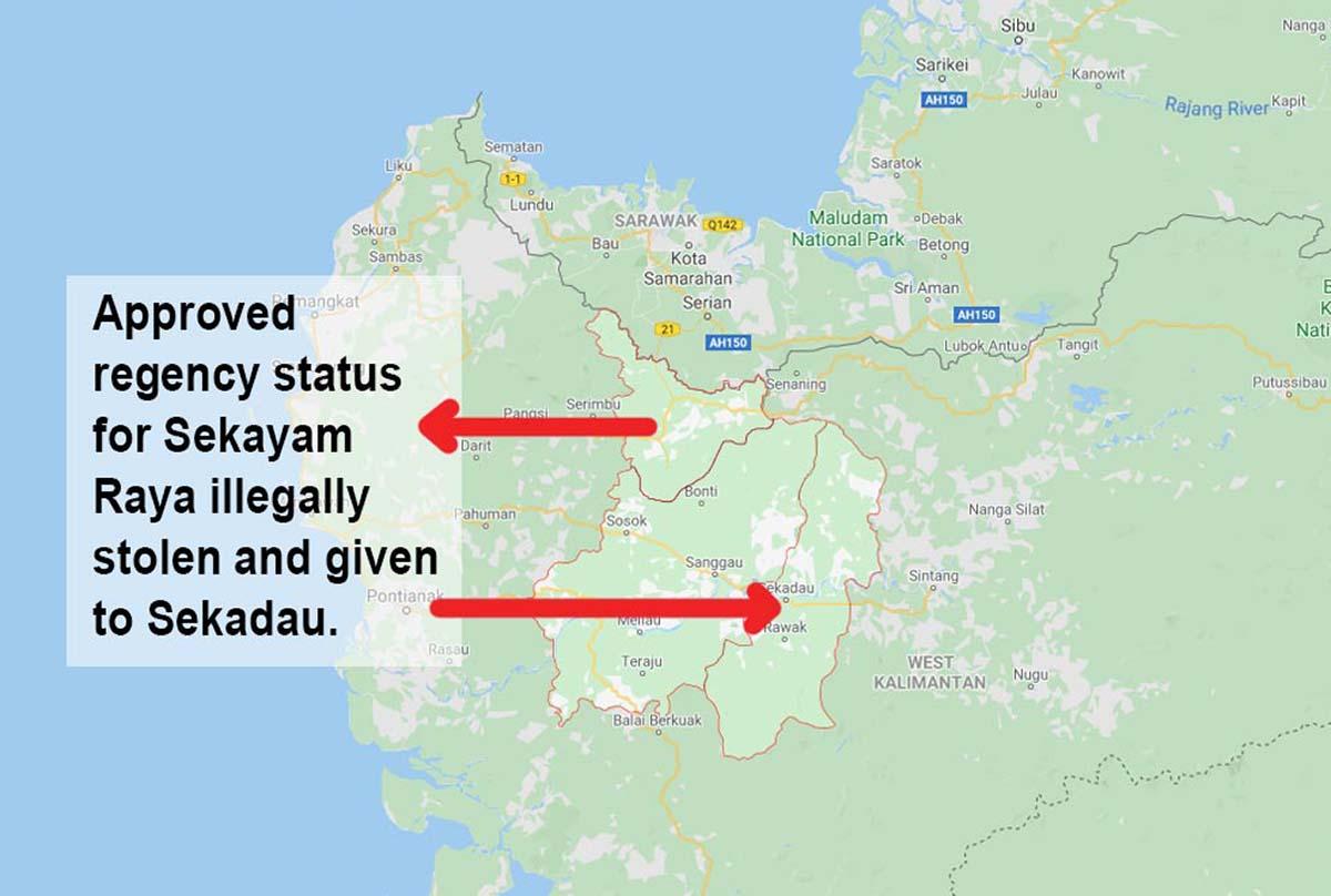 TRAGEDY : Setelah Dimanipulasi untuk Pemekaran Sekadau, Sekayam Tuntut Haknya Jadi Kabupaten