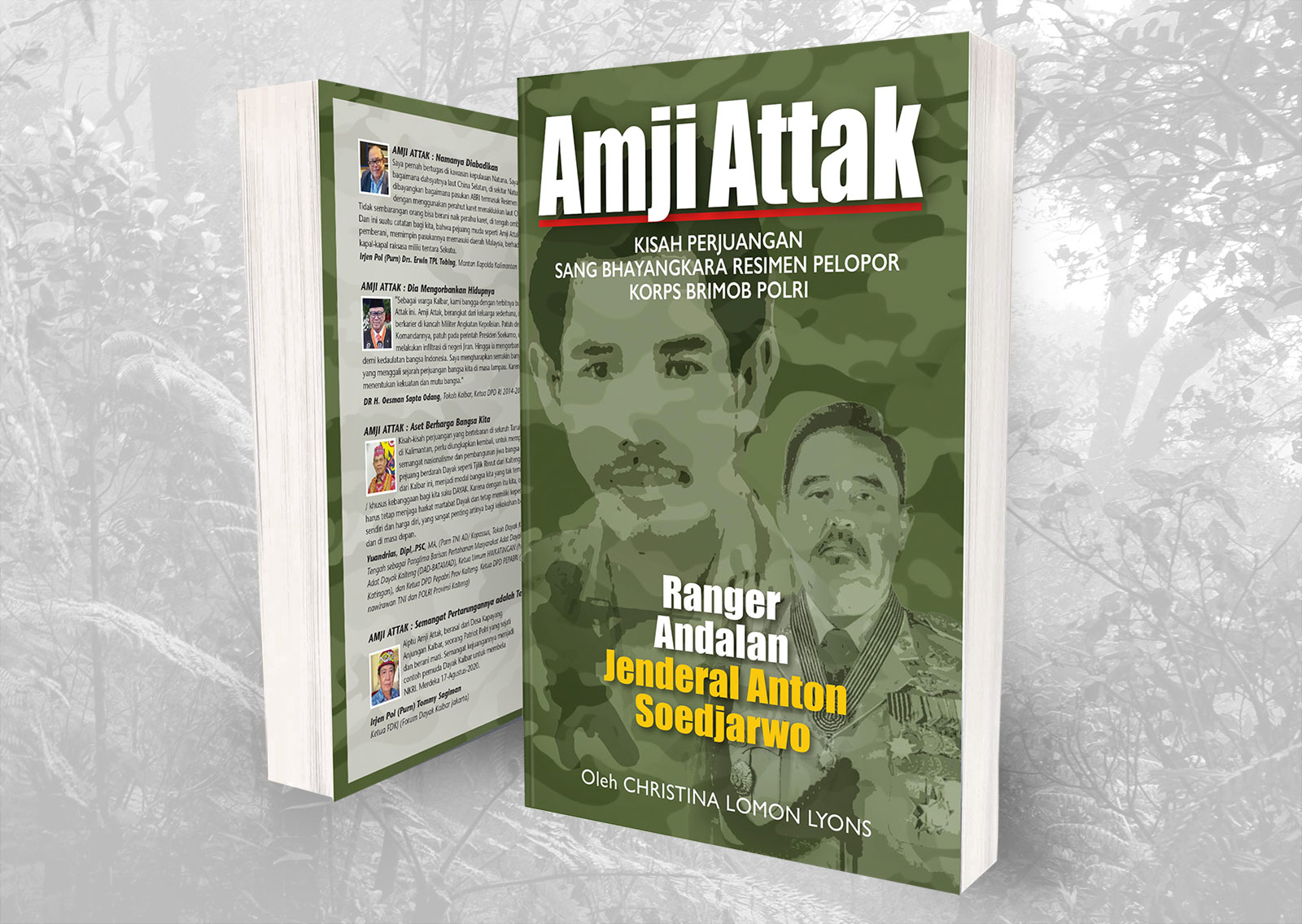 Amji Attak – Patriot Indonesia dari Kalimantan